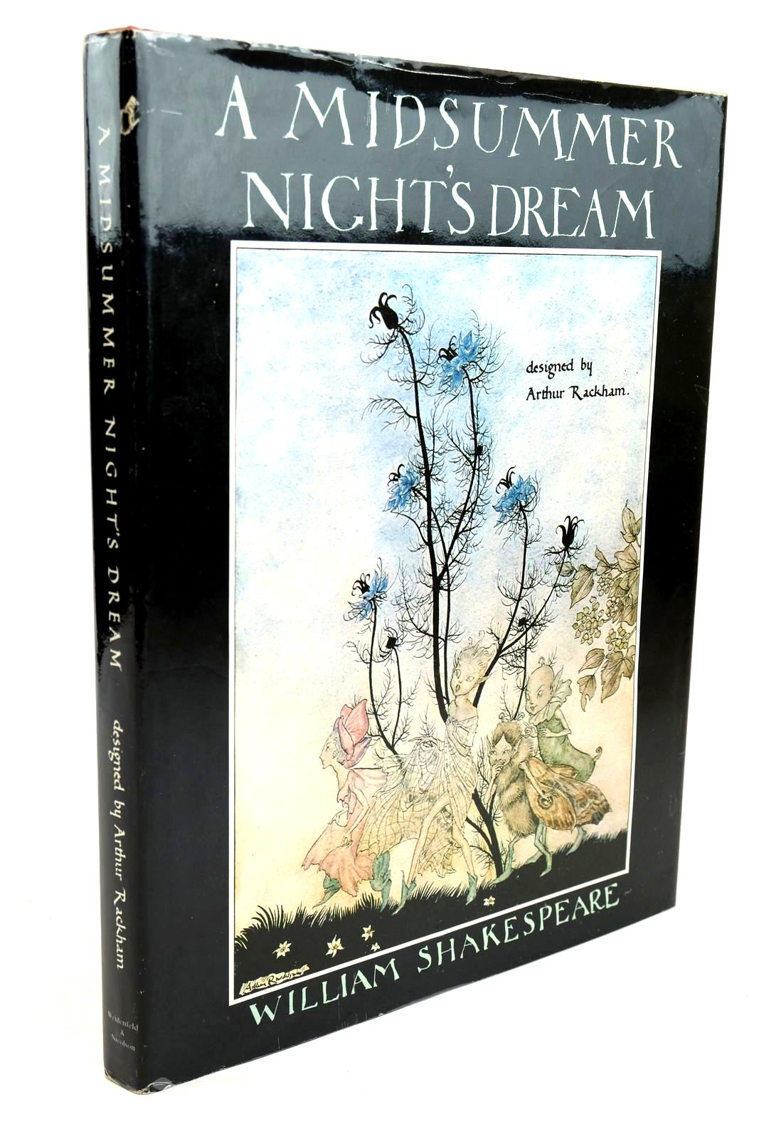Photo of A MIDSUMMER NIGHT'S DREAM written by Shakespeare, William illustrated by Rackham, Arthur Hewitt, Graily published by Weidenfeld and Nicolson (STOCK CODE: 1320486)  for sale by Stella & Rose's Books