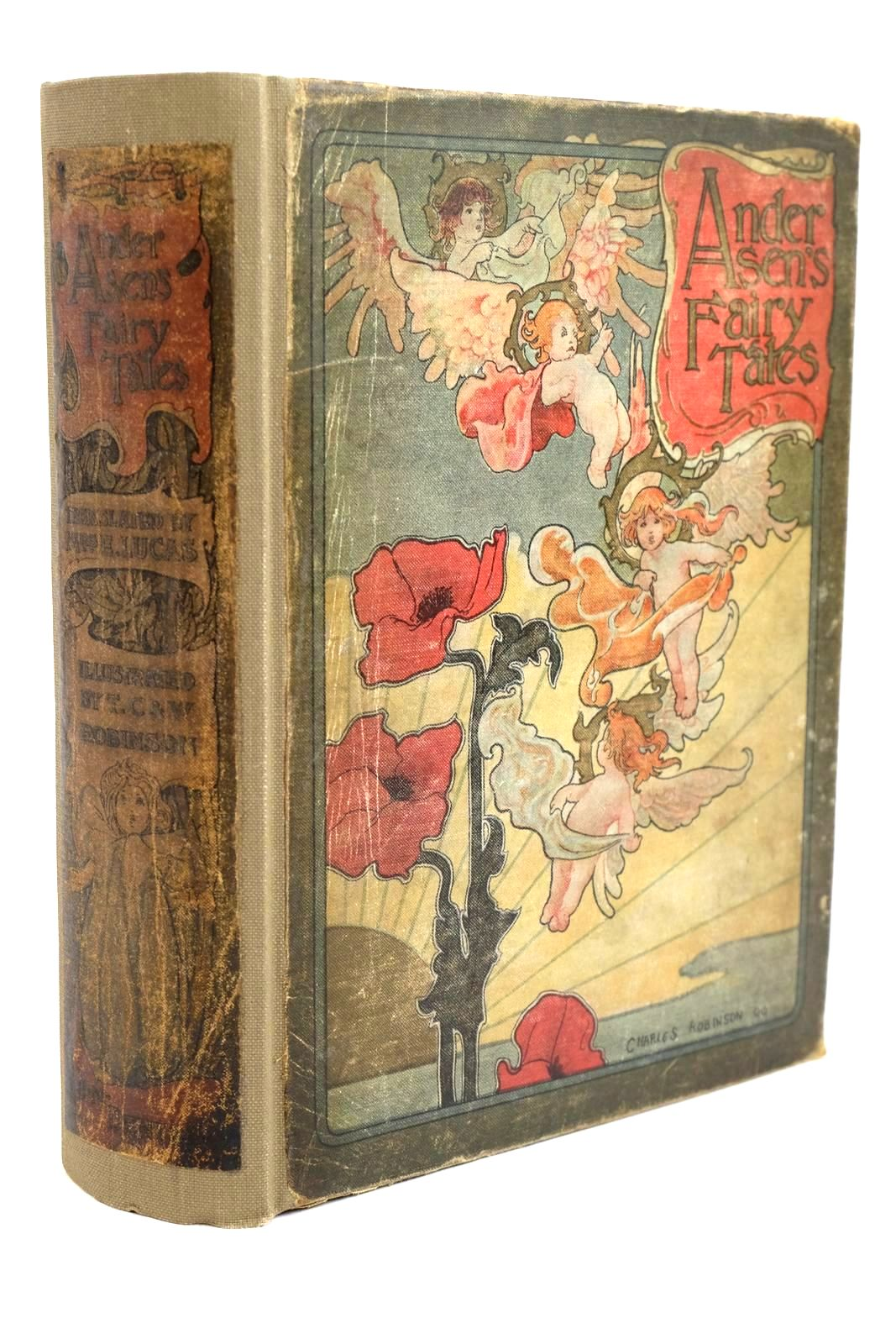 Photo of ANDERSEN'S FAIRY TALES written by Andersen, Hans Christian illustrated by Robinson, T.H. Robinson, Charles Robinson, W. Heath published by J.M. Dent (STOCK CODE: 1320487)  for sale by Stella & Rose's Books