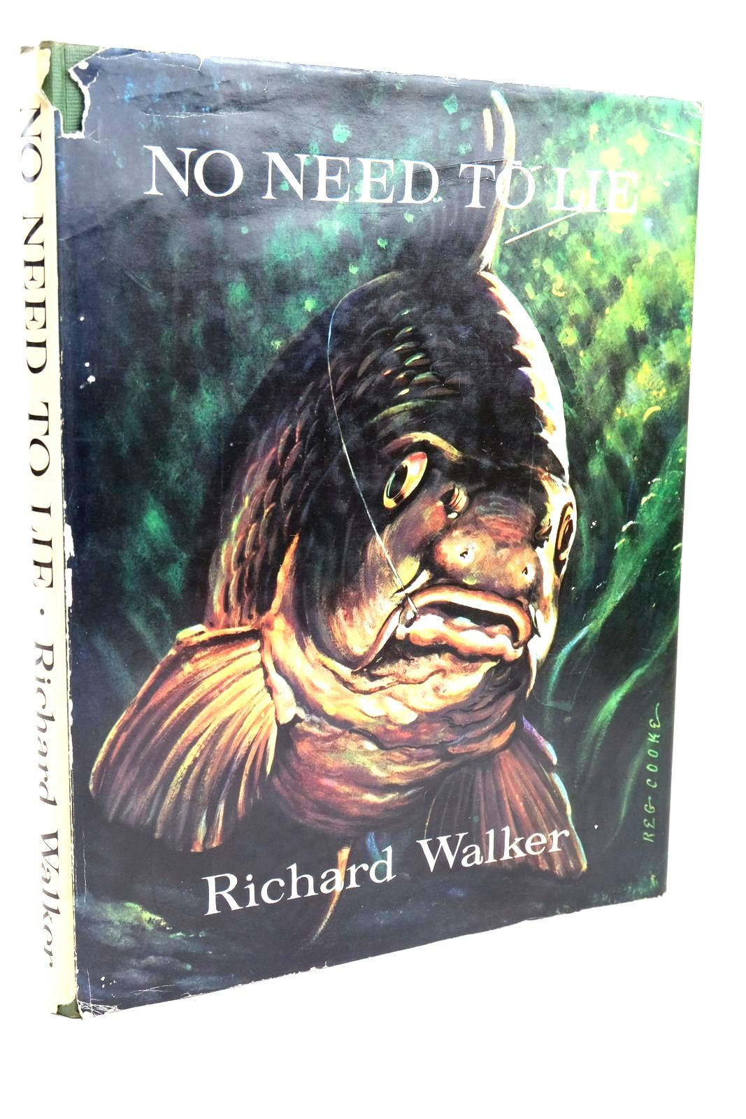 Photo of NO NEED TO LIE written by Walker, Richard illustrated by Cooke, Reg published by E.M. Art & Publishing Limited (STOCK CODE: 1320488)  for sale by Stella & Rose's Books
