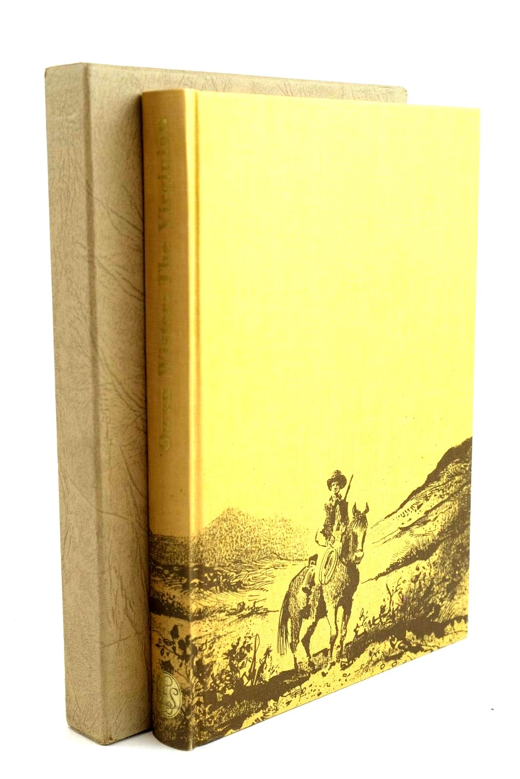 Photo of THE VIRGINIAN written by Wister, Owen illustrated by Biro, Val published by Folio Society (STOCK CODE: 1320513)  for sale by Stella & Rose's Books
