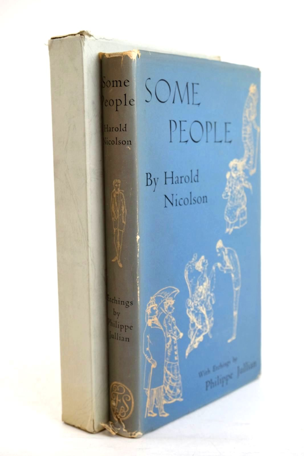 Photo of SOME PEOPLE written by Nicolson, Harold illustrated by Jullian, Philippe published by Folio Society (STOCK CODE: 1320530)  for sale by Stella & Rose's Books