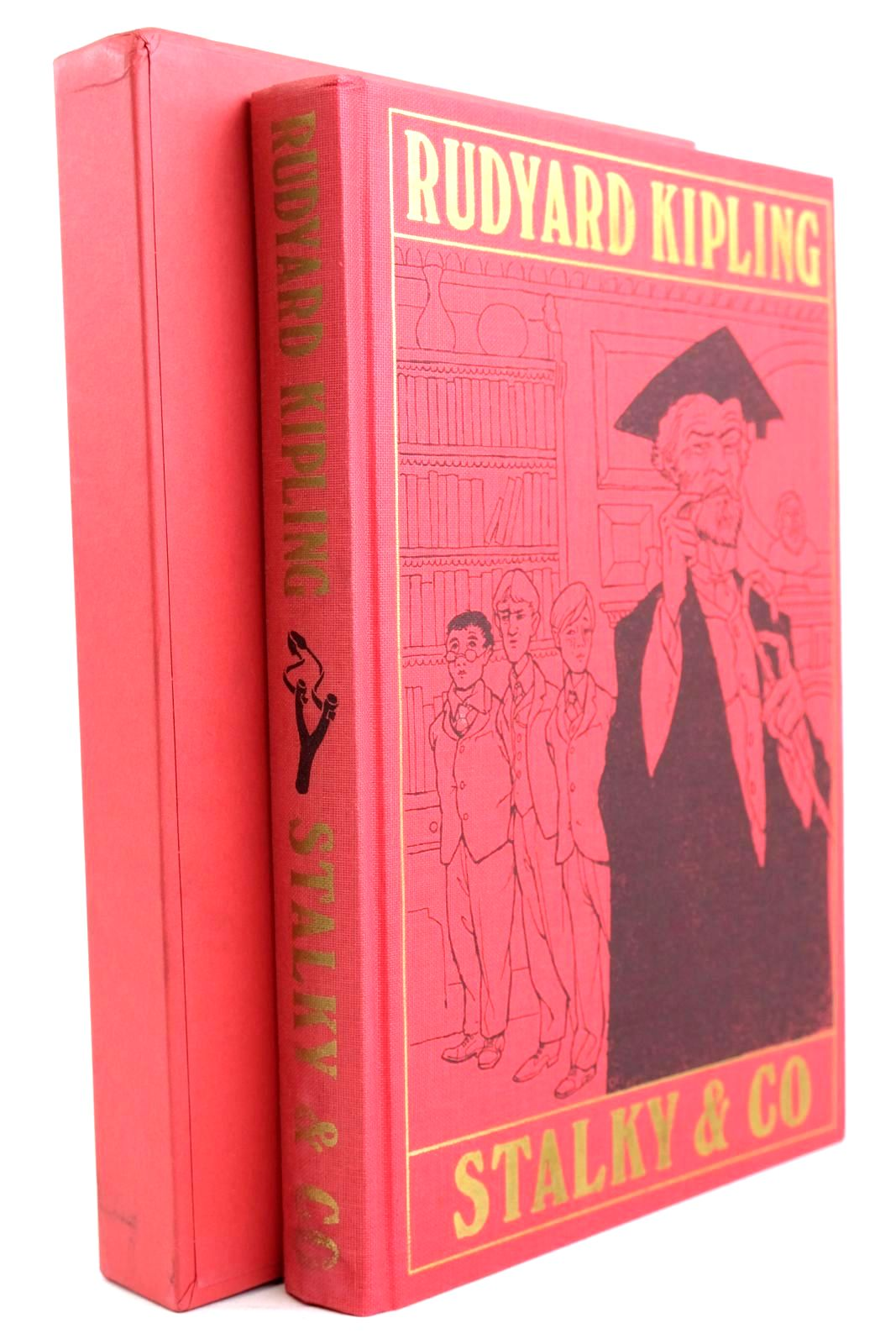 Photo of THE COMPLETE STALKY & CO. written by Kipling, Rudyard illustrated by Eccles, David published by Folio Society (STOCK CODE: 1320533)  for sale by Stella & Rose's Books