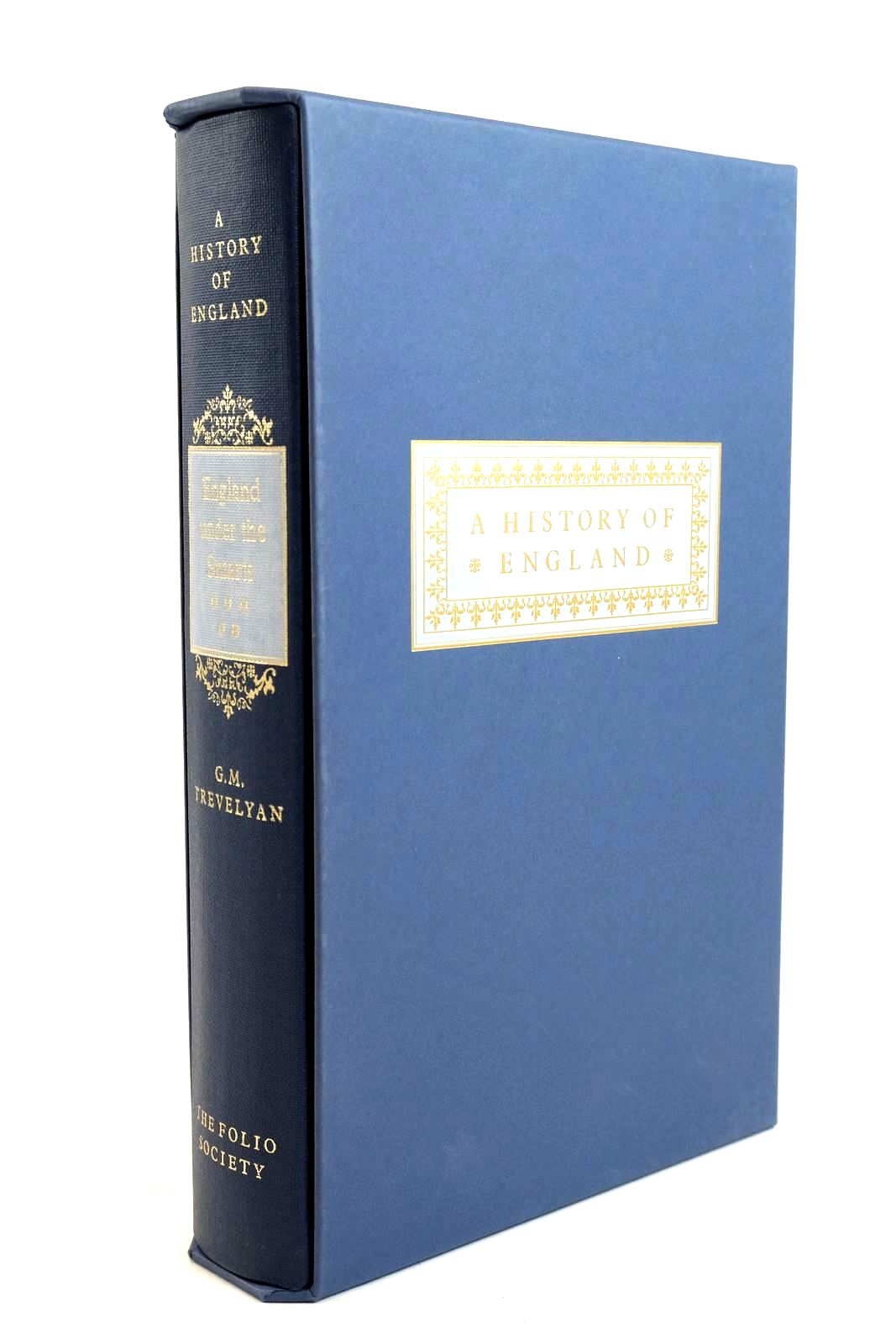 Photo of ENGLAND UNDER THE STUARTS written by Trevelyan, G.M. published by Folio Society (STOCK CODE: 1320543)  for sale by Stella & Rose's Books