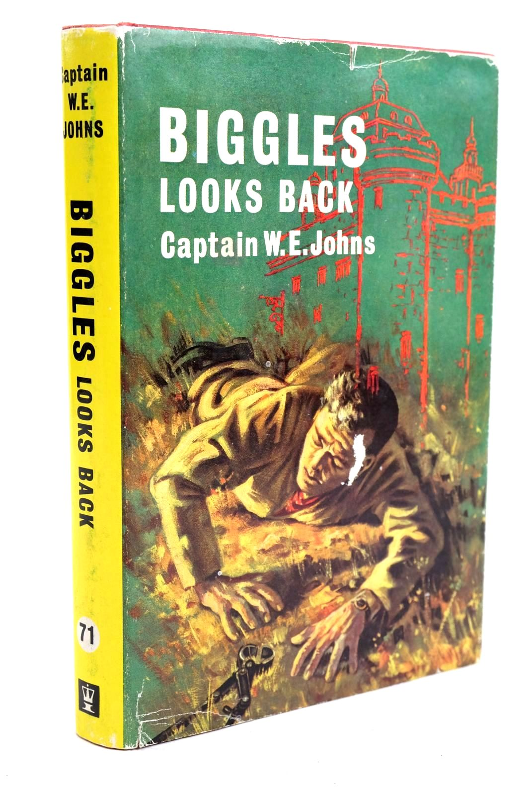 Photo of BIGGLES LOOKS BACK written by Johns, W.E. illustrated by Stead,  published by Hodder & Stoughton (STOCK CODE: 1320553)  for sale by Stella & Rose's Books