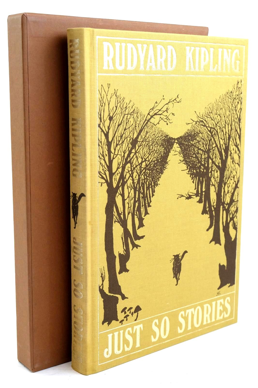 Photo of JUST SO STORIES written by Kipling, Rudyard illustrated by Kipling, Rudyard published by Folio Society (STOCK CODE: 1320571)  for sale by Stella & Rose's Books