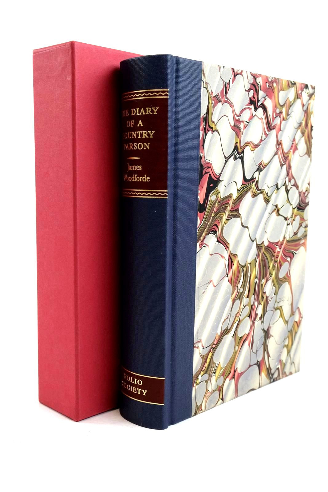 Photo of THE DIARY OF A COUNTRY PARSON written by Woodforde, James Hughes, David illustrated by Stephens, Ian published by Folio Society (STOCK CODE: 1320663)  for sale by Stella & Rose's Books