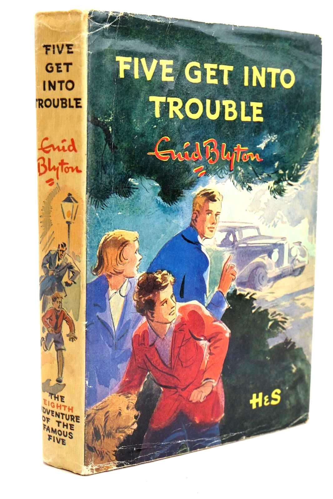 Photo of FIVE GET INTO TROUBLE written by Blyton, Enid illustrated by Soper, Eileen published by Hodder & Stoughton (STOCK CODE: 1320664)  for sale by Stella & Rose's Books