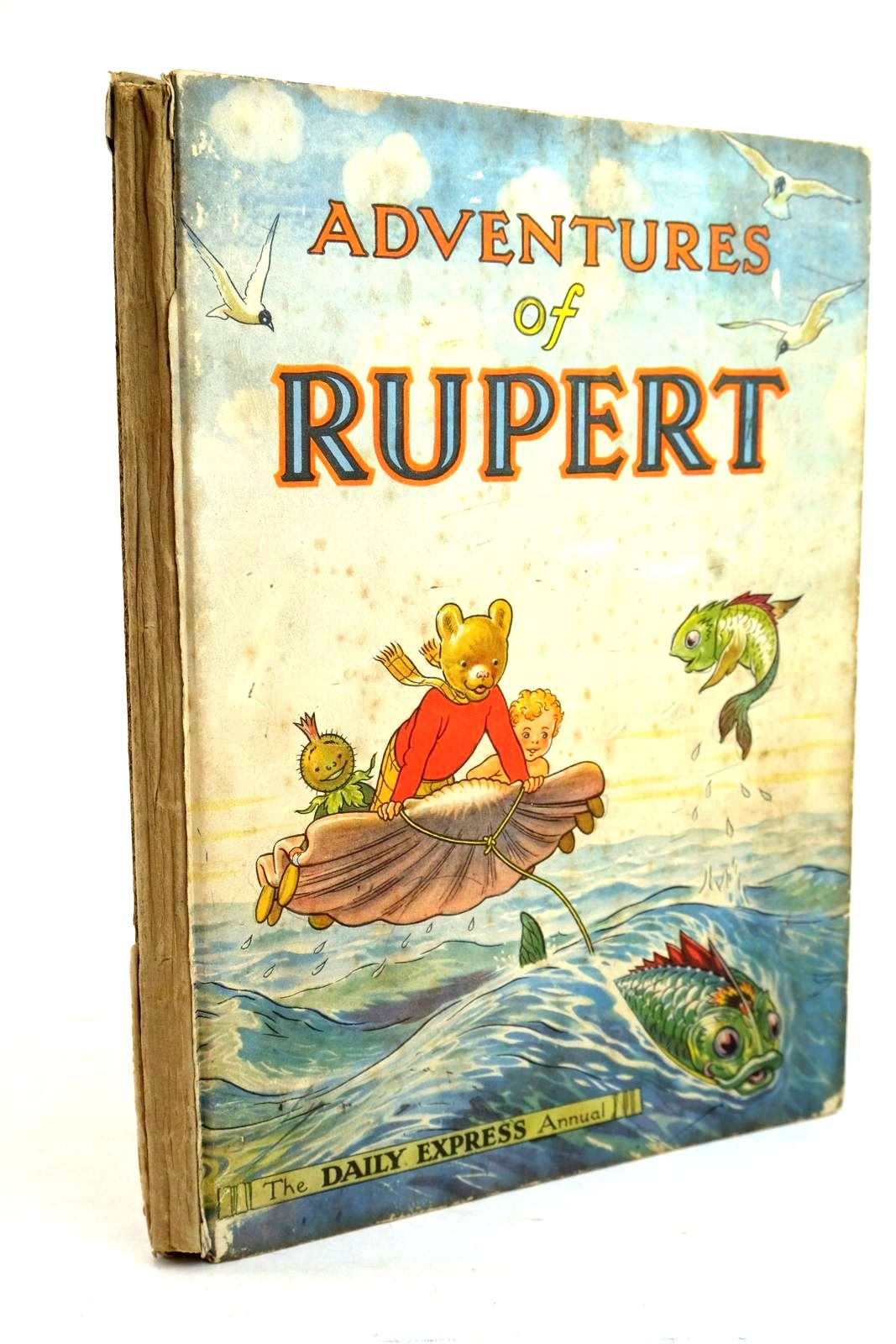 Photo of RUPERT ANNUAL 1950 - ADVENTURES OF RUPERT written by Bestall, Alfred illustrated by Bestall, Alfred published by Daily Express (STOCK CODE: 1320665)  for sale by Stella & Rose's Books