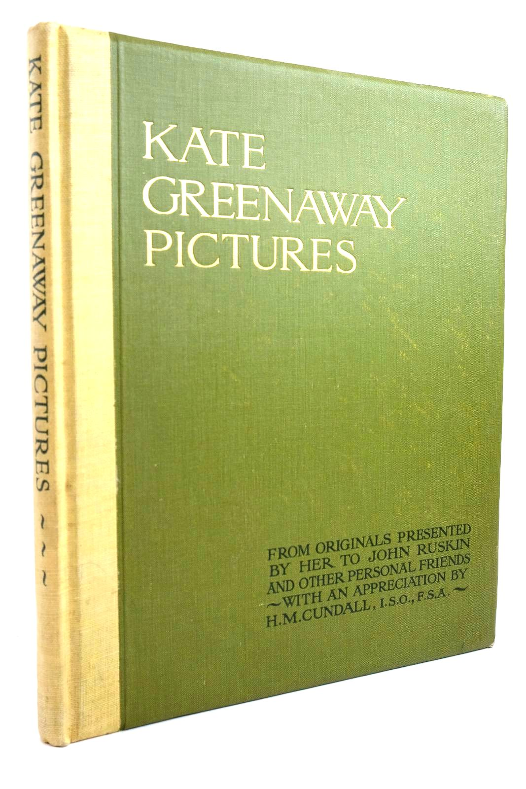 Photo of KATE GREENAWAY PICTURES written by Cundall, H.M. illustrated by Greenaway, Kate published by Frederick Warne & Co Ltd. (STOCK CODE: 1320666)  for sale by Stella & Rose's Books