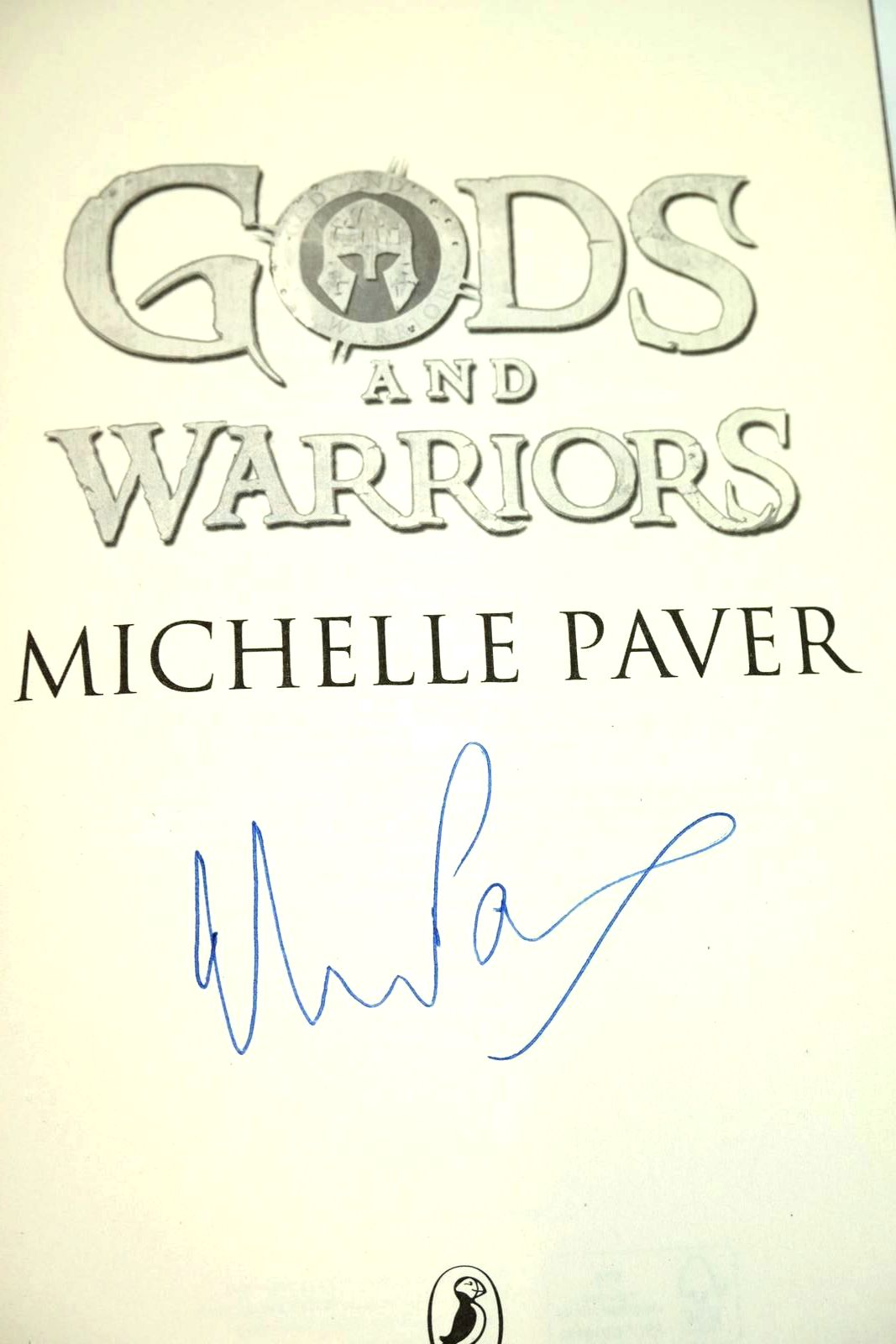 Photo of GODS AND WARRIORS written by Paver, Michelle published by Puffin Books (STOCK CODE: 1320682)  for sale by Stella & Rose's Books