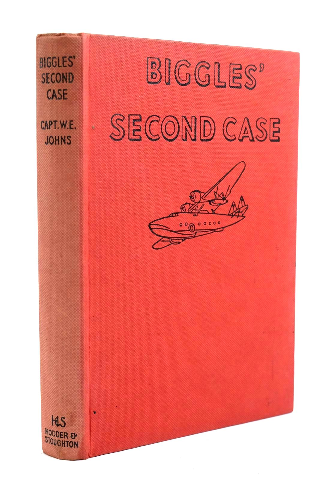 Photo of BIGGLES' SECOND CASE written by Johns, W.E. illustrated by Stead,  published by Hodder & Stoughton (STOCK CODE: 1320691)  for sale by Stella & Rose's Books