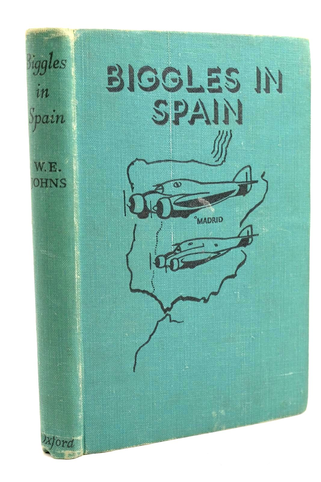 Photo of BIGGLES IN SPAIN written by Johns, W.E. illustrated by Leigh, Howard Abbey, J. published by Geoffrey Cumberlege, Oxford University Press (STOCK CODE: 1320692)  for sale by Stella & Rose's Books