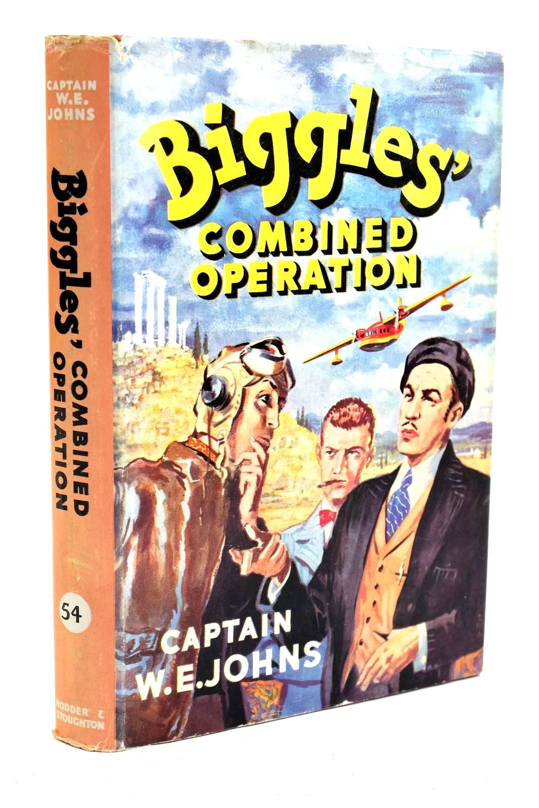 Photo of BIGGLES' COMBINED OPERATION written by Johns, W.E. illustrated by Stead,  published by Hodder & Stoughton (STOCK CODE: 1320701)  for sale by Stella & Rose's Books