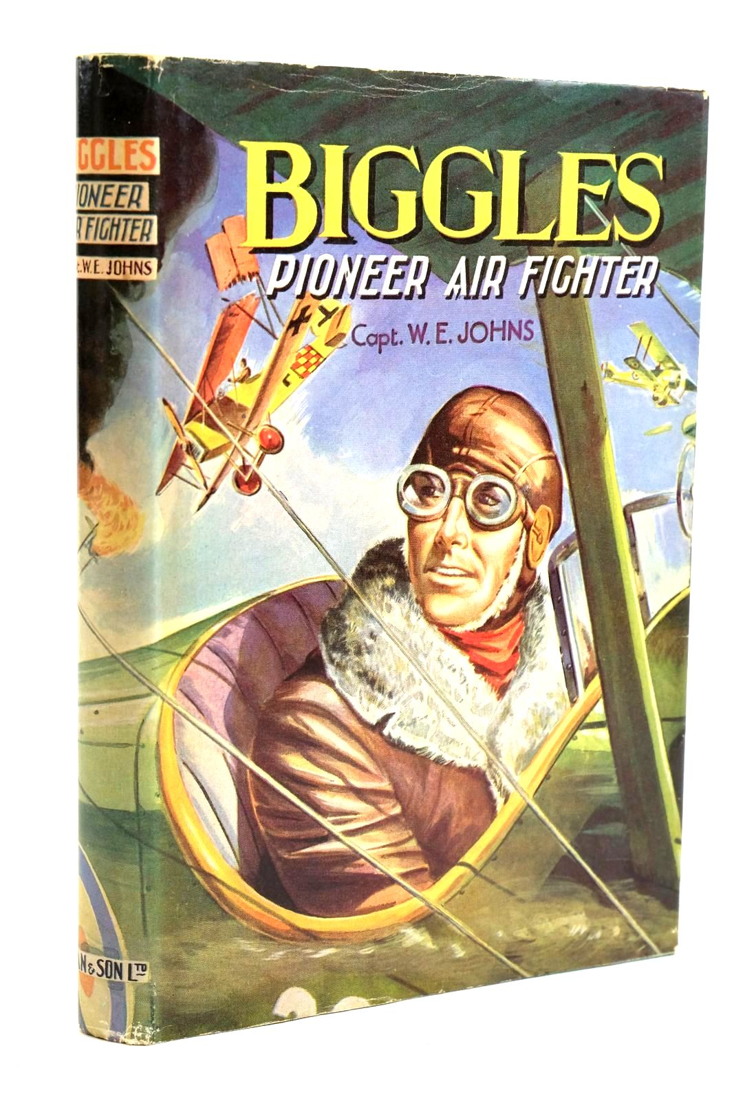 Photo of BIGGLES PIONEER AIR FIGHTER- Stock Number: 1320703