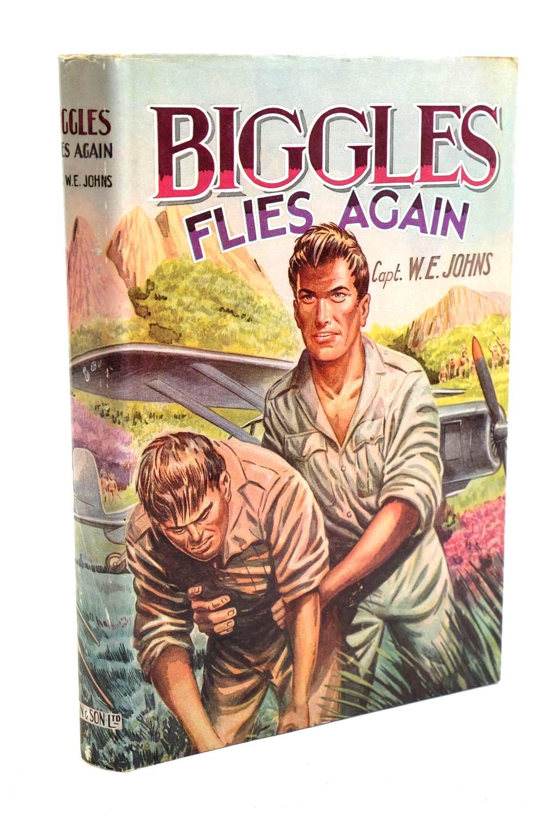 Photo of BIGGLES FLIES AGAIN- Stock Number: 1320704