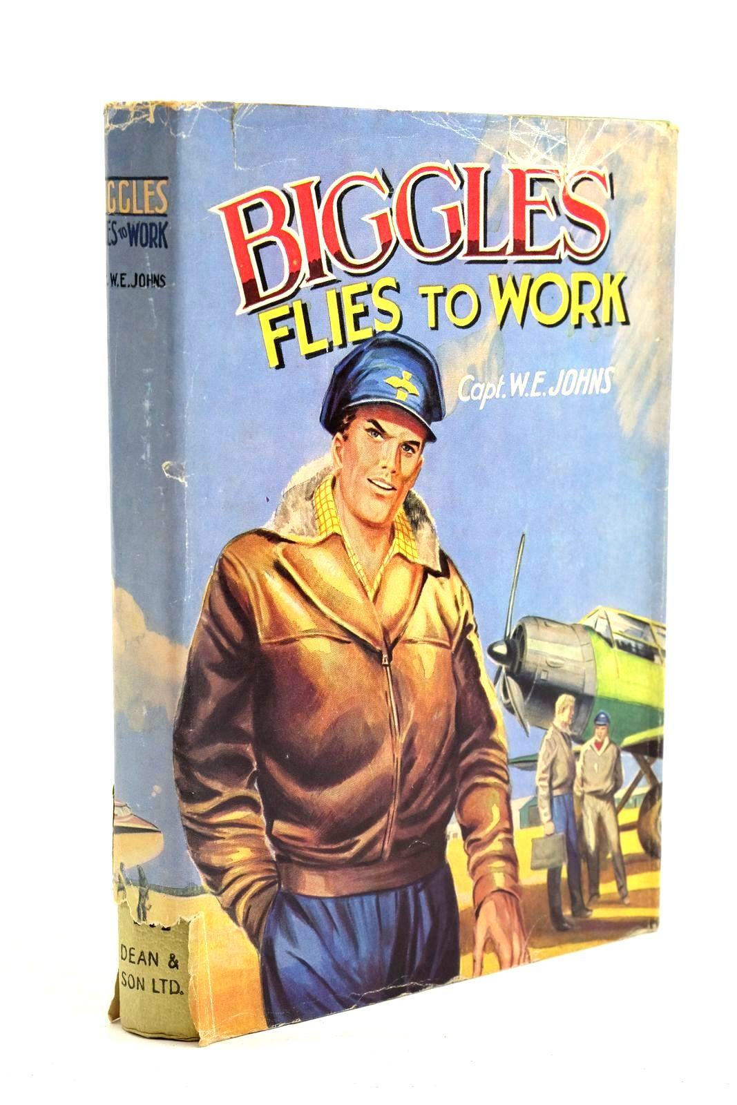 Photo of BIGGLES FLIES TO WORK written by Johns, W.E. published by Dean & Son Ltd. (STOCK CODE: 1320705)  for sale by Stella & Rose's Books