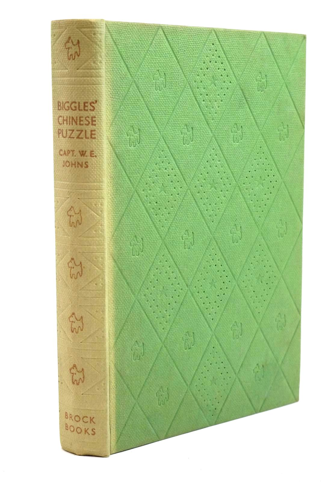 Photo of BIGGLES' CHINESE PUZZLE written by Johns, W.E. illustrated by Stead, Leslie published by Brockhampton Press Ltd. (STOCK CODE: 1320706)  for sale by Stella & Rose's Books