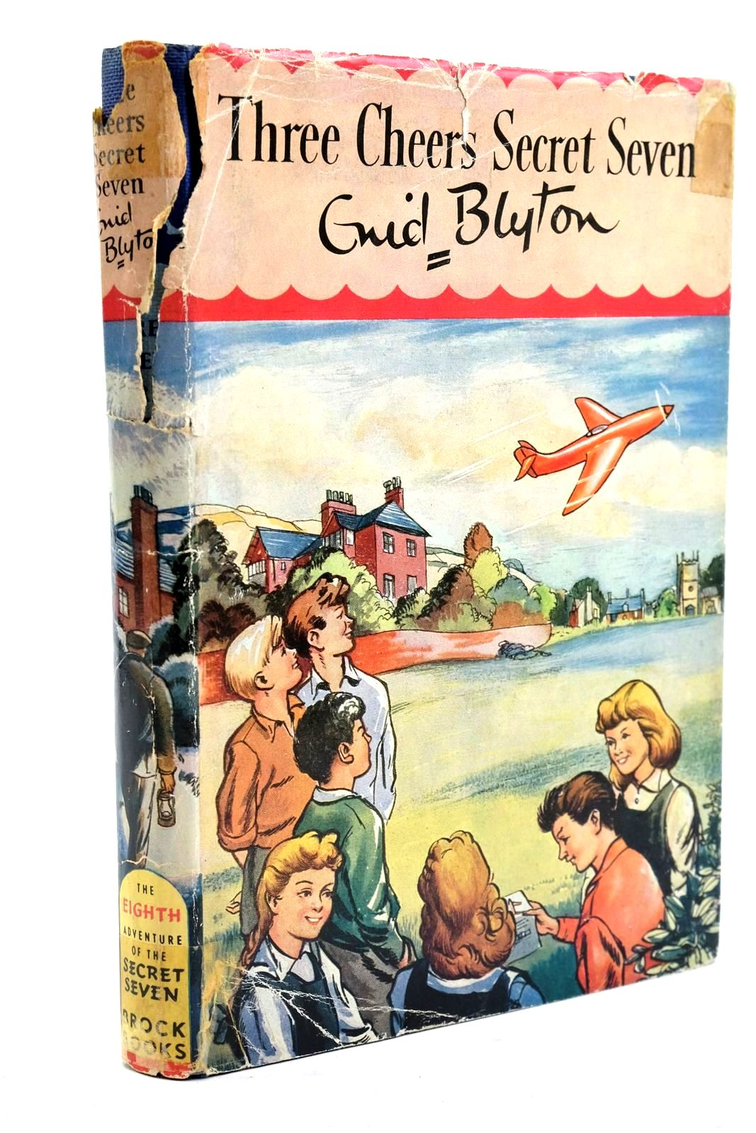 Photo of THREE CHEERS SECRET SEVEN written by Blyton, Enid illustrated by Sharrocks, Burgess published by Brockhampton Press Ltd. (STOCK CODE: 1320708)  for sale by Stella & Rose's Books