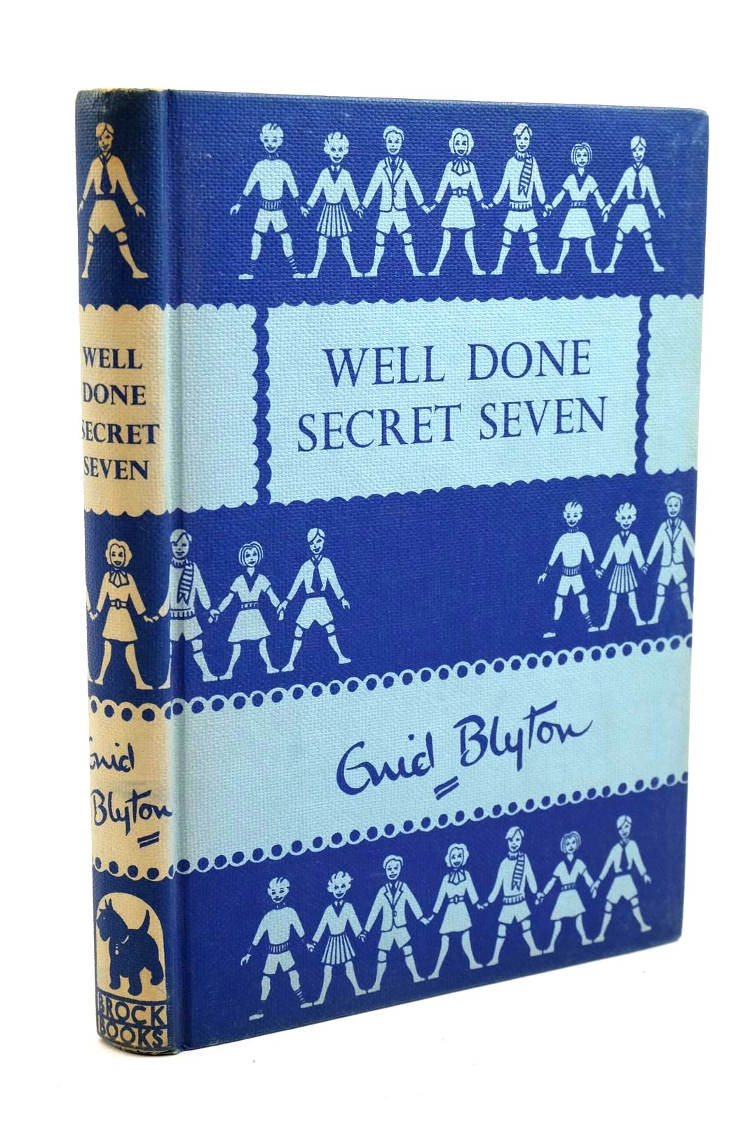 Photo of WELL DONE SECRET SEVEN written by Blyton, Enid illustrated by Brook, George published by Brockhampton Press Ltd. (STOCK CODE: 1320723)  for sale by Stella & Rose's Books