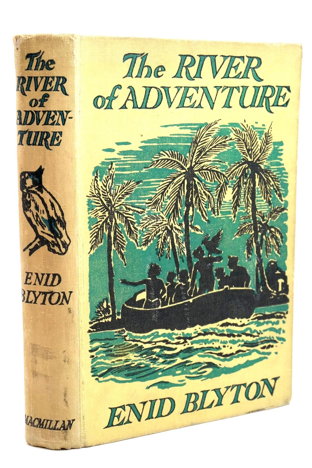 Photo of THE RIVER OF ADVENTURE written by Blyton, Enid illustrated by Tresilian, Stuart published by Macmillan & Co. Ltd. (STOCK CODE: 1320743)  for sale by Stella & Rose's Books