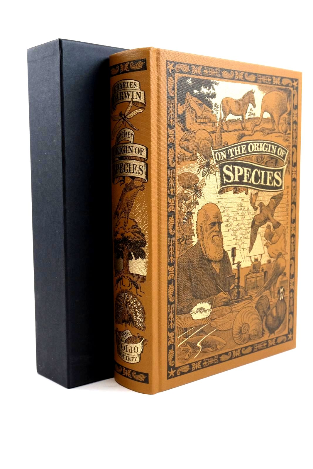 Photo of ON THE ORIGIN OF SPECIES BY MEANS OF NATURAL SELECTION written by Darwin, Charles Keynes, Richard published by Folio Society (STOCK CODE: 1320745)  for sale by Stella & Rose's Books