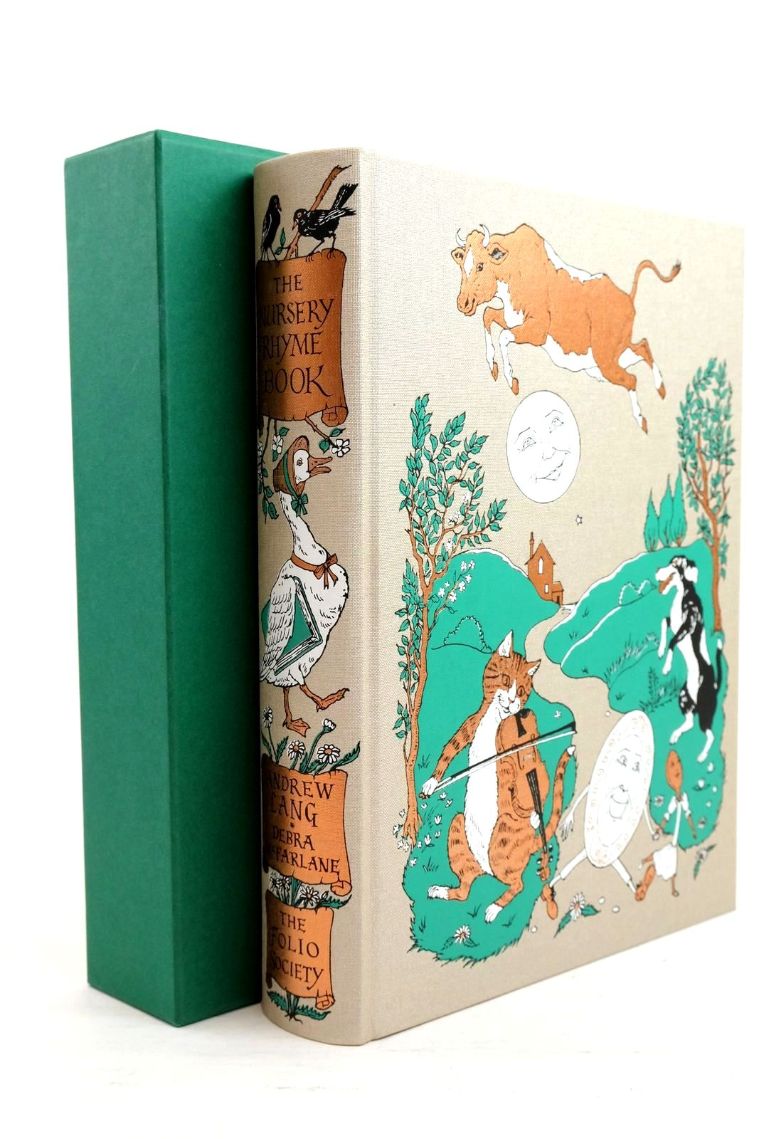 Photo of THE NURSERY RHYME BOOK written by Lang, Andrew Rosen, Michael illustrated by McFarlane, Debra Brooke, L. Leslie published by Folio Society (STOCK CODE: 1320808)  for sale by Stella & Rose's Books