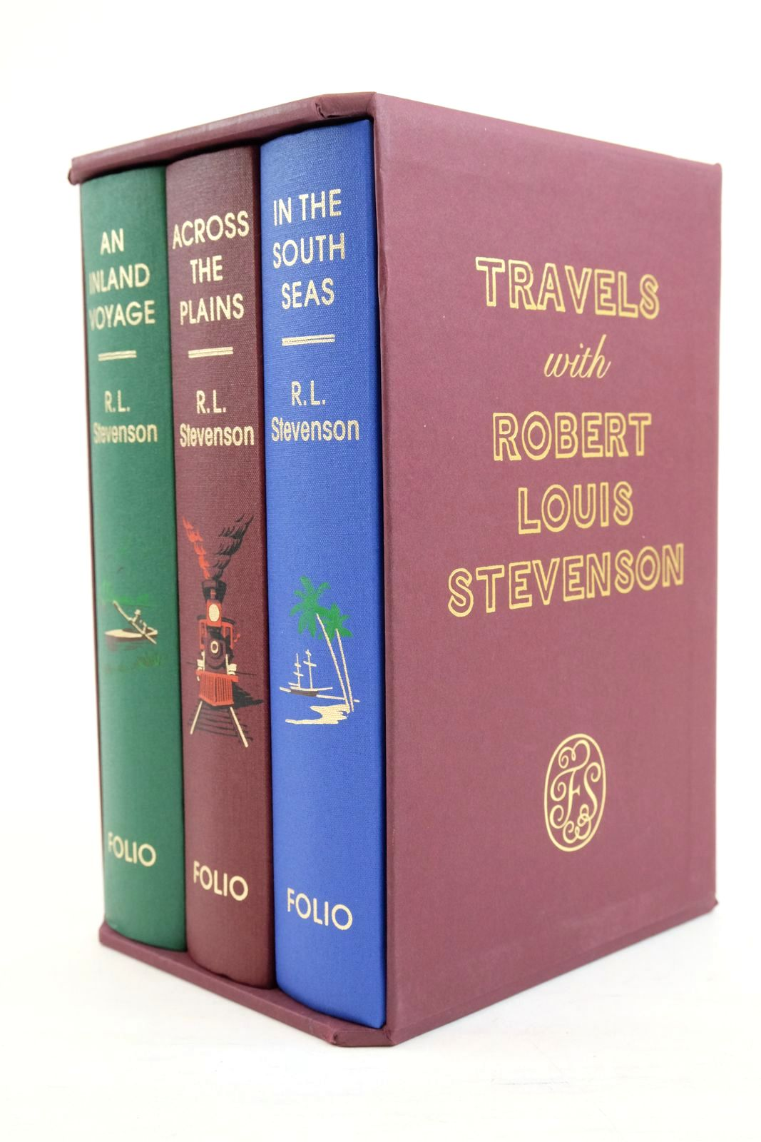 Photo of TRAVELS WITH ROBERT LOUIS STEVENSON (THREE VOLUMES)- Stock Number: 1320809