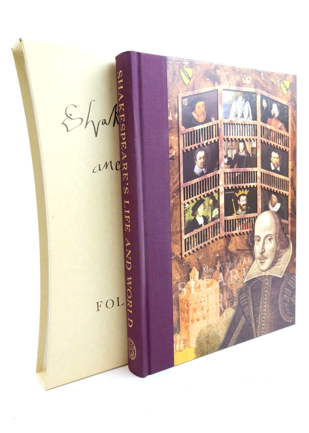 Photo of SHAKESPEARE'S LIFE AND WORLD written by Duncan-Jones, Katherine Shakespeare, William published by Folio Society (STOCK CODE: 1320815)  for sale by Stella & Rose's Books