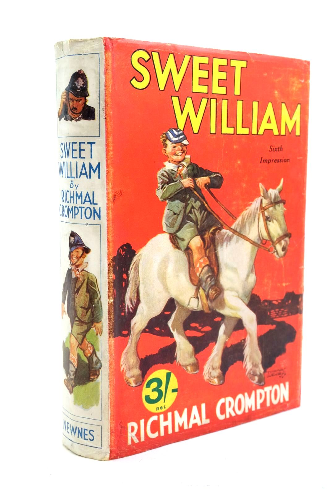 Photo of SWEET WILLIAM written by Crompton, Richmal illustrated by Henry, Thomas published by George Newnes Limited (STOCK CODE: 1320818)  for sale by Stella & Rose's Books