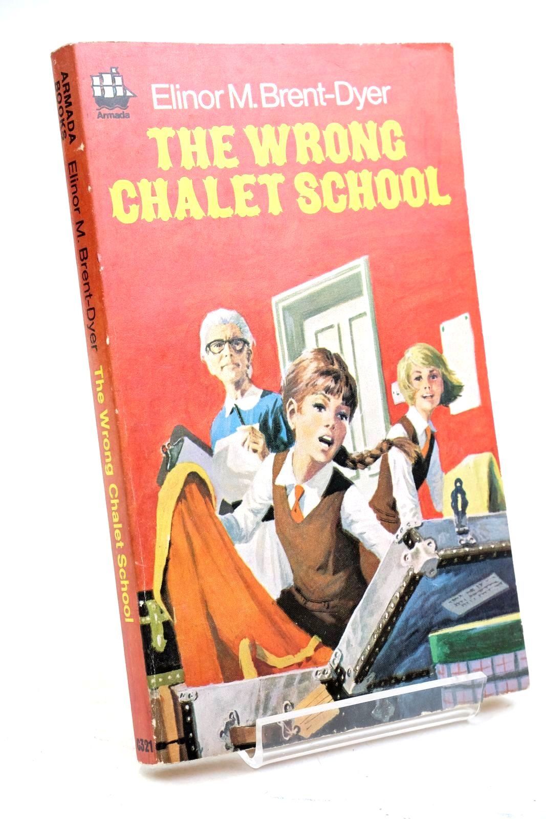 Photo of THE WRONG CHALET SCHOOL written by Brent-Dyer, Elinor M. published by Armada (STOCK CODE: 1320822)  for sale by Stella & Rose's Books
