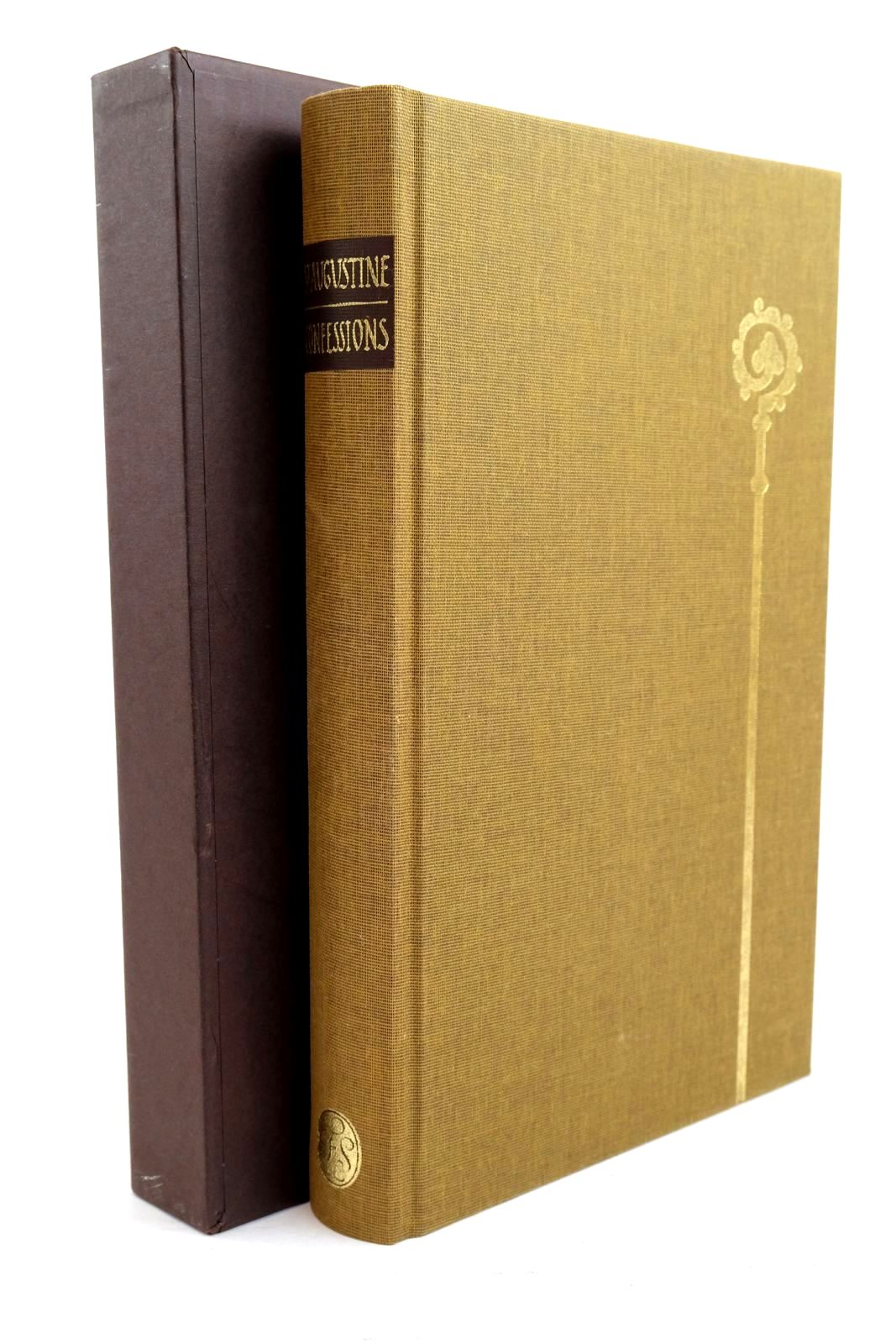 Photo of ST AUGUSTINE BISHOP OF HIPPO CONFESSIONS written by Pilkington, J.G. Williams, Rowan illustrated by Brett, Simon published by Folio Society (STOCK CODE: 1320839)  for sale by Stella & Rose's Books