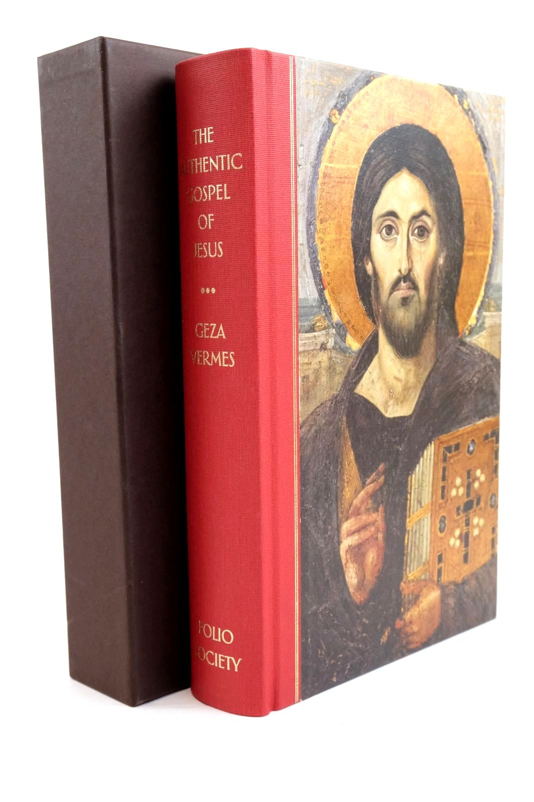 Photo of THE  AUTHENTIC GOSPEL OF JESUS written by Vermes, Geza published by Folio Society (STOCK CODE: 1320842)  for sale by Stella & Rose's Books