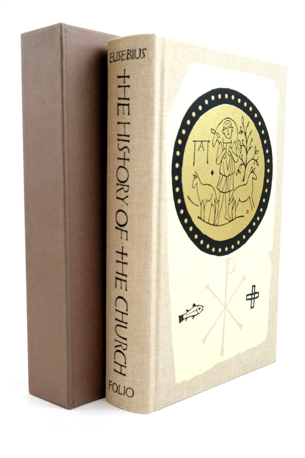Photo of THE HISTORY OF THE CHURCH: FROM CHRIST TO CONSTANTINE written by Eusebius,  Williamson, G.A. Louth, Andrew Williams, Rowan published by Folio Society (STOCK CODE: 1320863)  for sale by Stella & Rose's Books