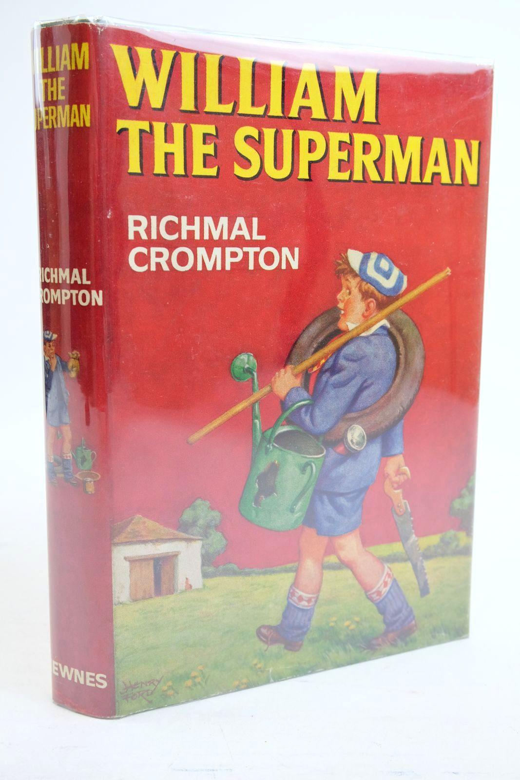 Photo of WILLIAM THE SUPERMAN written by Crompton, Richmal illustrated by Ford, Henry published by George Newnes (STOCK CODE: 1320876)  for sale by Stella & Rose's Books