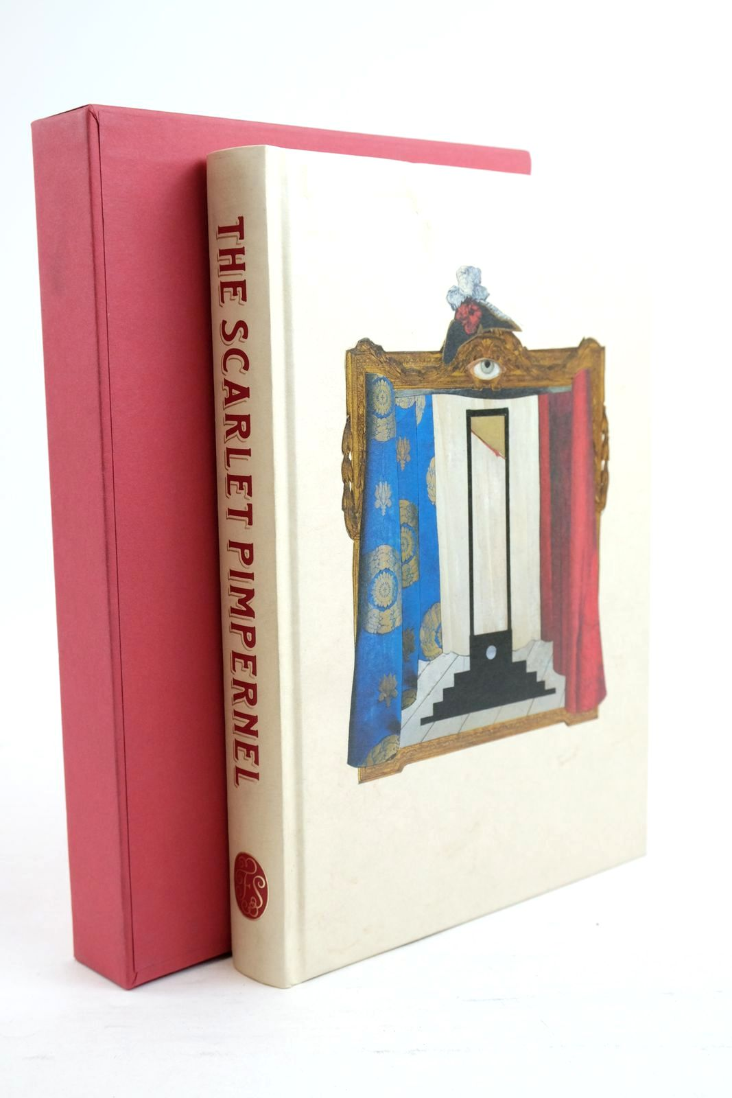 Photo of THE SCARLET PIMPERNEL written by Orczy, Baroness Mantel, Hilary illustrated by Weller, Lucy published by Folio Society (STOCK CODE: 1320900)  for sale by Stella & Rose's Books