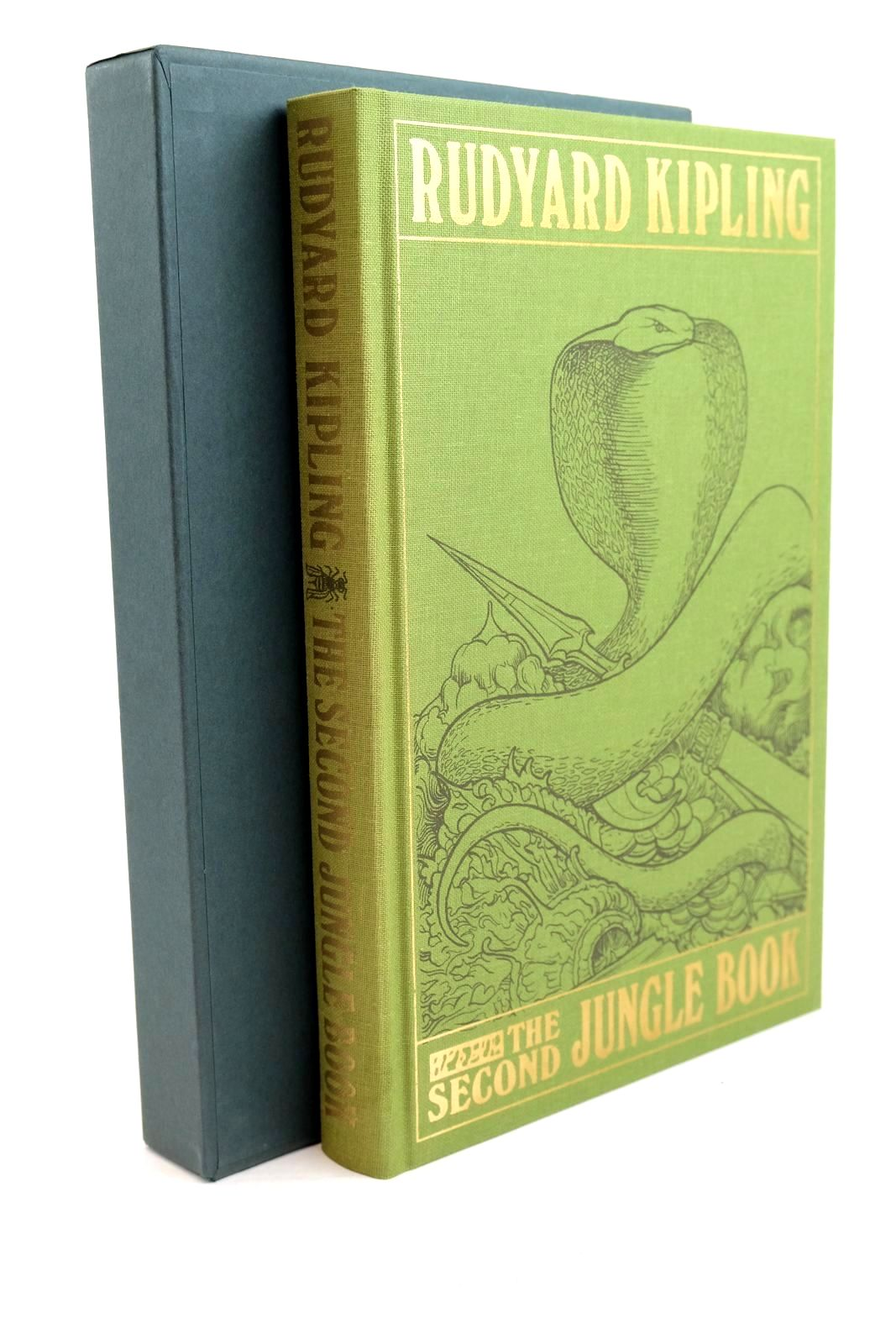 Photo of THE SECOND JUNGLE BOOK written by Kipling, Rudyard illustrated by Detmold, Edward J. Eccles, David published by Folio Society (STOCK CODE: 1320916)  for sale by Stella & Rose's Books