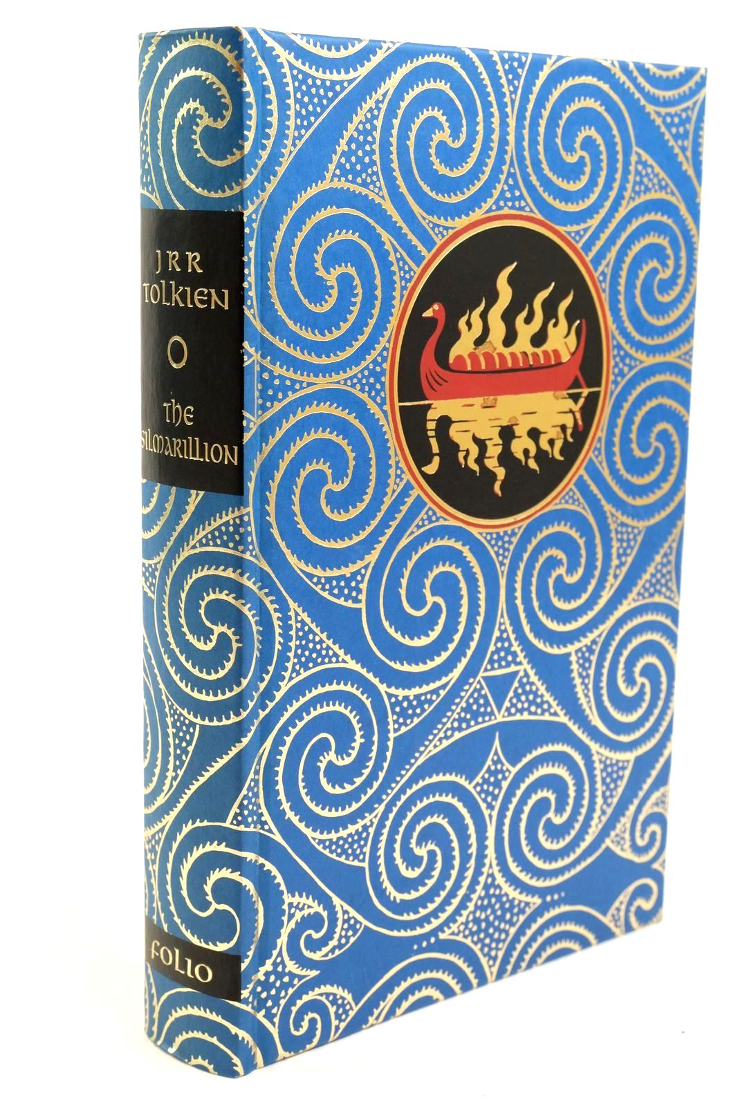 Photo of THE SILMARILLION written by Tolkien, J.R.R. Tolkien, Christopher illustrated by Mosley, Francis published by Folio Society (STOCK CODE: 1320921)  for sale by Stella & Rose's Books