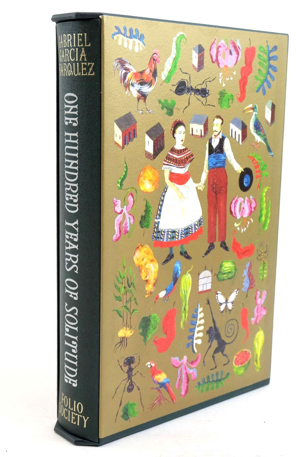 Photo of ONE HUNDRED YEARS OF SOLITUDE written by Marquez, Gabriel Garcia illustrated by Packer, Neil published by Folio Society (STOCK CODE: 1320922)  for sale by Stella & Rose's Books