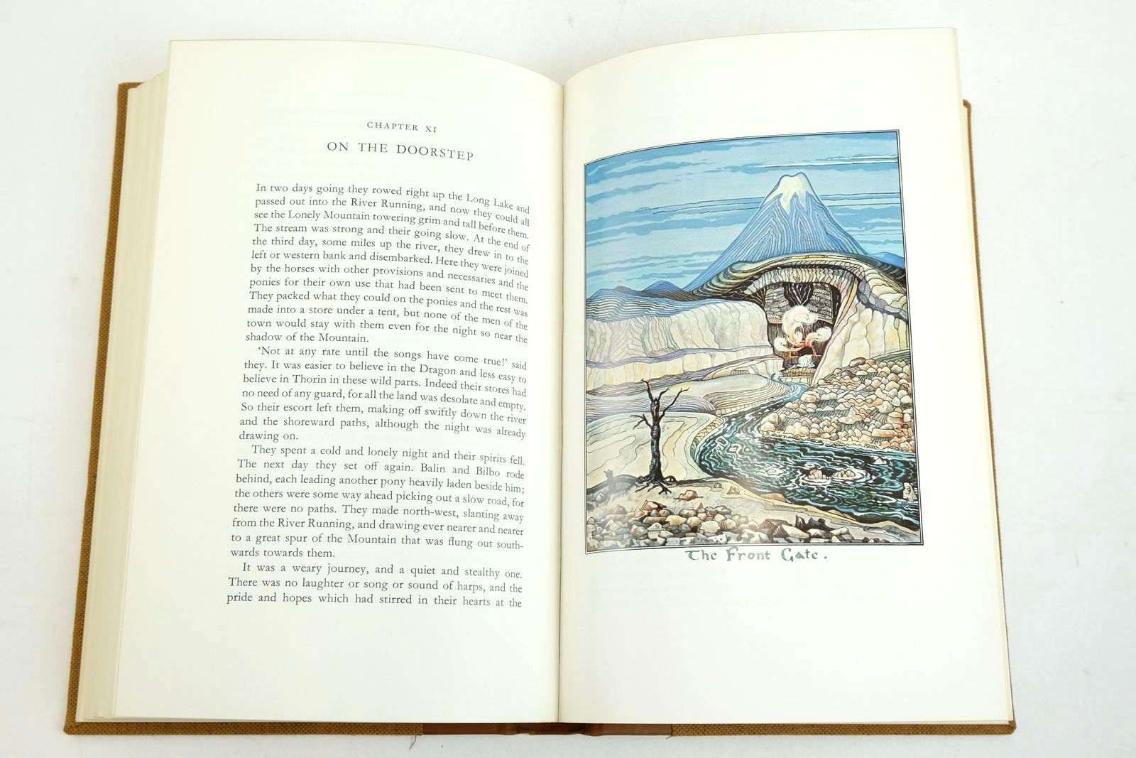Photo of THE HOBBIT OR THERE AND BACK AGAIN written by Tolkien, J.R.R. illustrated by Tolkien, J.R.R. published by Folio Society, George Allen & Unwin Ltd. (STOCK CODE: 1320936)  for sale by Stella & Rose's Books