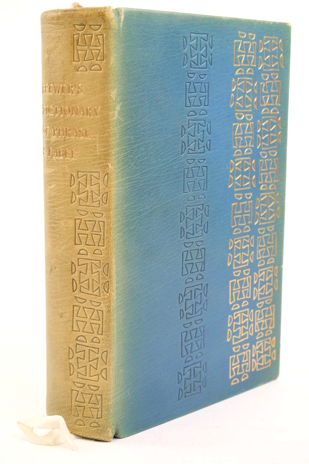 Photo of BREWER'S DICTIONARY OF PHRASE AND FABLE- Stock Number: 1320949