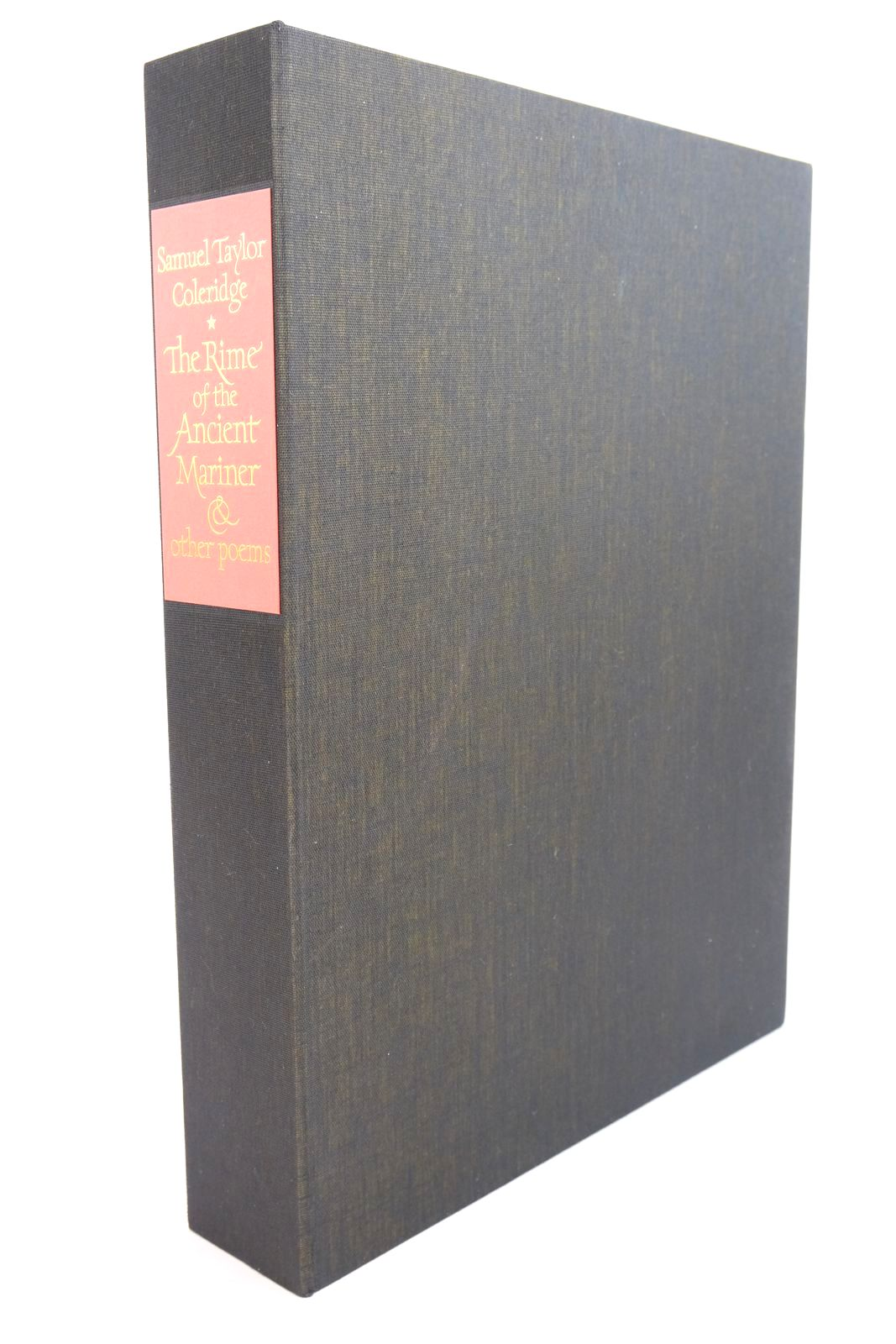 Photo of THE RIME OF THE ANCIENT MARINER AND THREE OTHER POEMS written by Coleridge, Samuel Taylor illustrated by Brockway, Harry published by Folio Society (STOCK CODE: 1320970)  for sale by Stella & Rose's Books