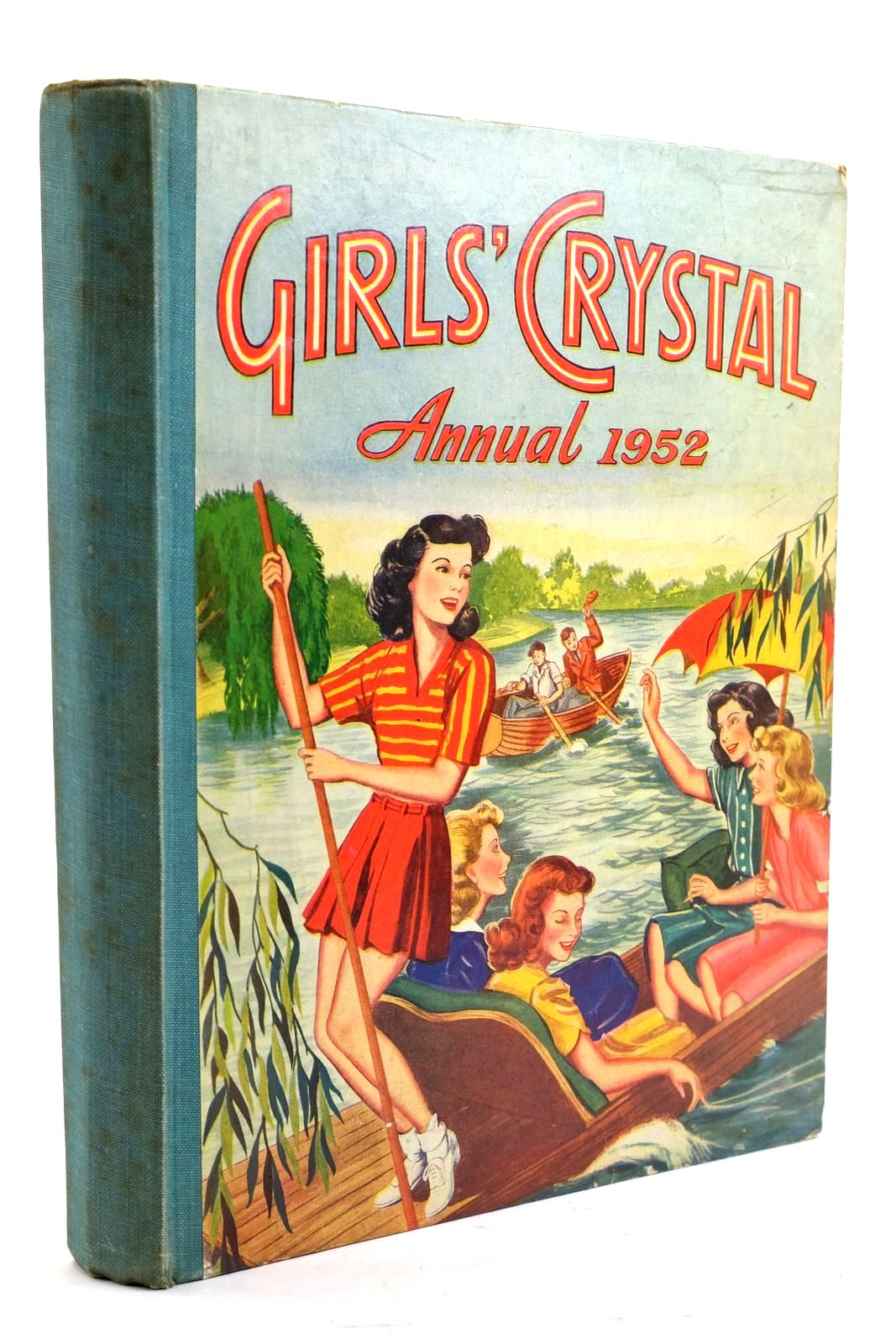 Photo of GIRLS' CRYSTAL ANNUAL 1952 published by The Amalgamated Press (STOCK CODE: 1321002)  for sale by Stella & Rose's Books