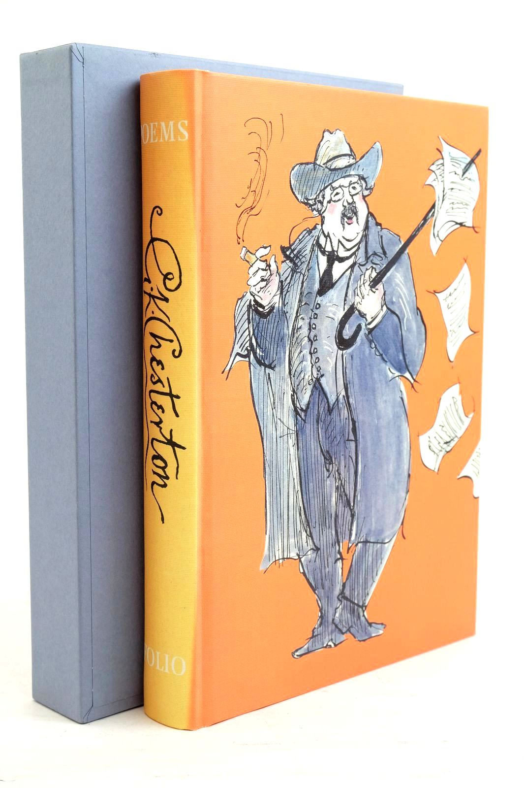 Photo of POEMS written by Chesterton, G.K. Baker, Kenneth illustrated by Lawrence, John published by Folio Society (STOCK CODE: 1321041)  for sale by Stella & Rose's Books