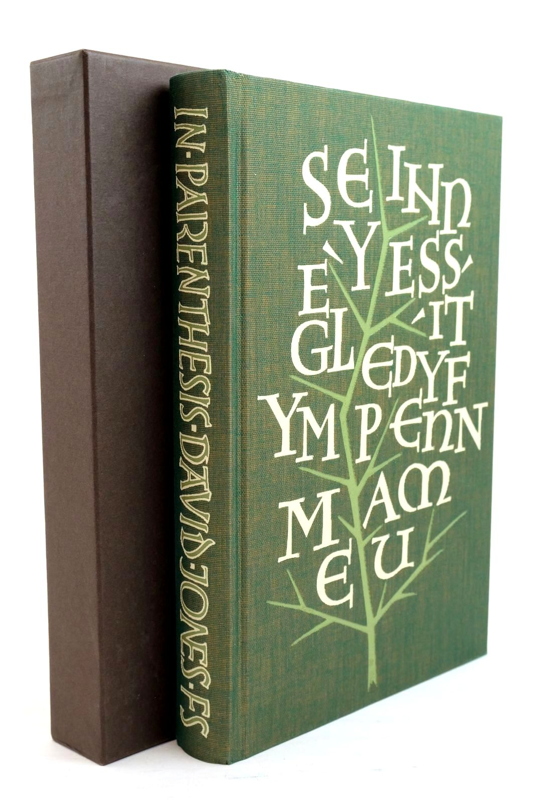 Photo of IN PARENTHESIS written by Jones, David Eliot, T.S. Bloom, Harold illustrated by Clayton, Ewan published by Folio Society (STOCK CODE: 1321065)  for sale by Stella & Rose's Books