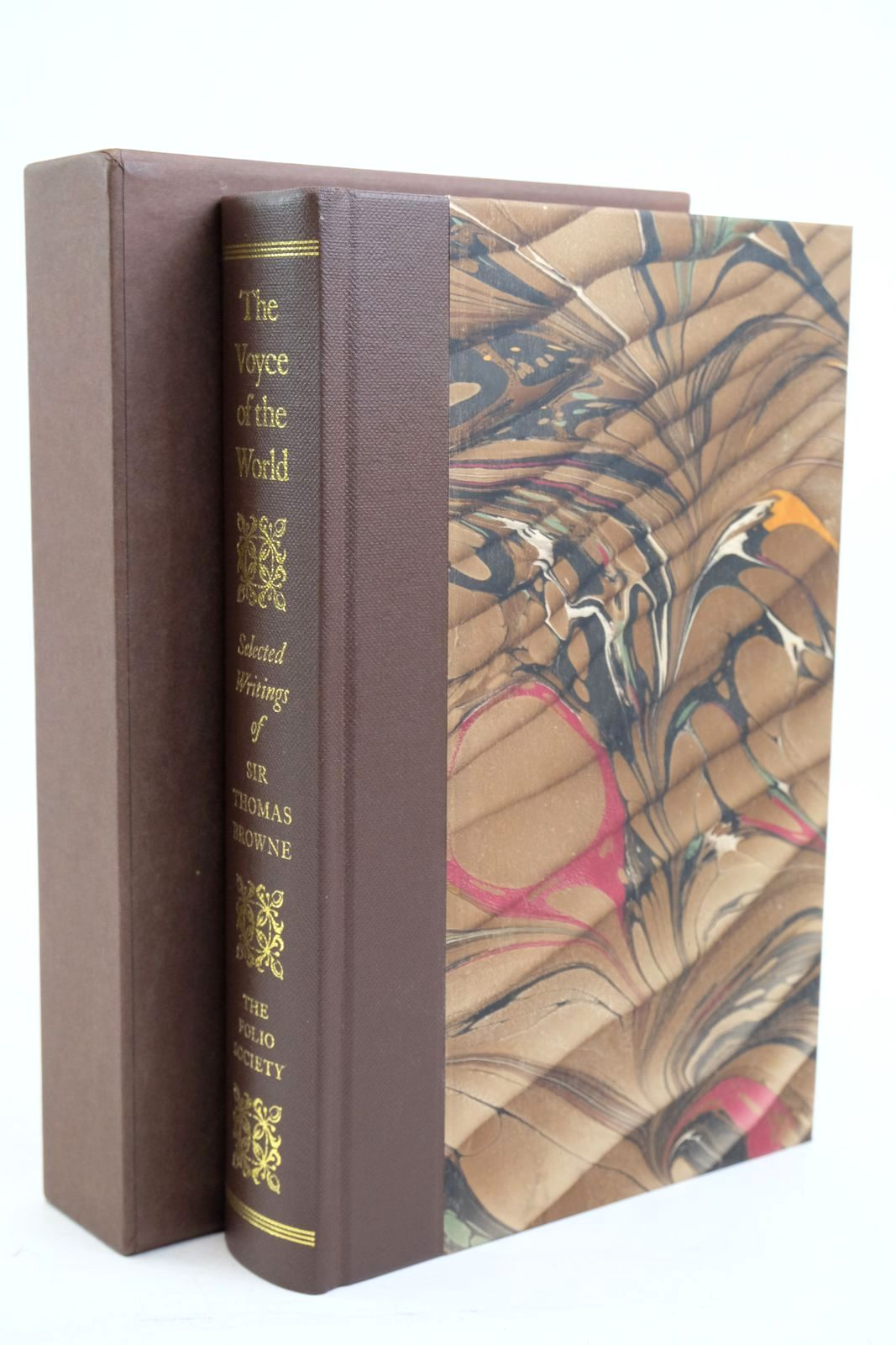Photo of THE VOYCE OF THE WORLD written by Browne, Thomas Keynes, Geoffrey Mackintosh-Smith, Tim published by Folio Society (STOCK CODE: 1321066)  for sale by Stella & Rose's Books