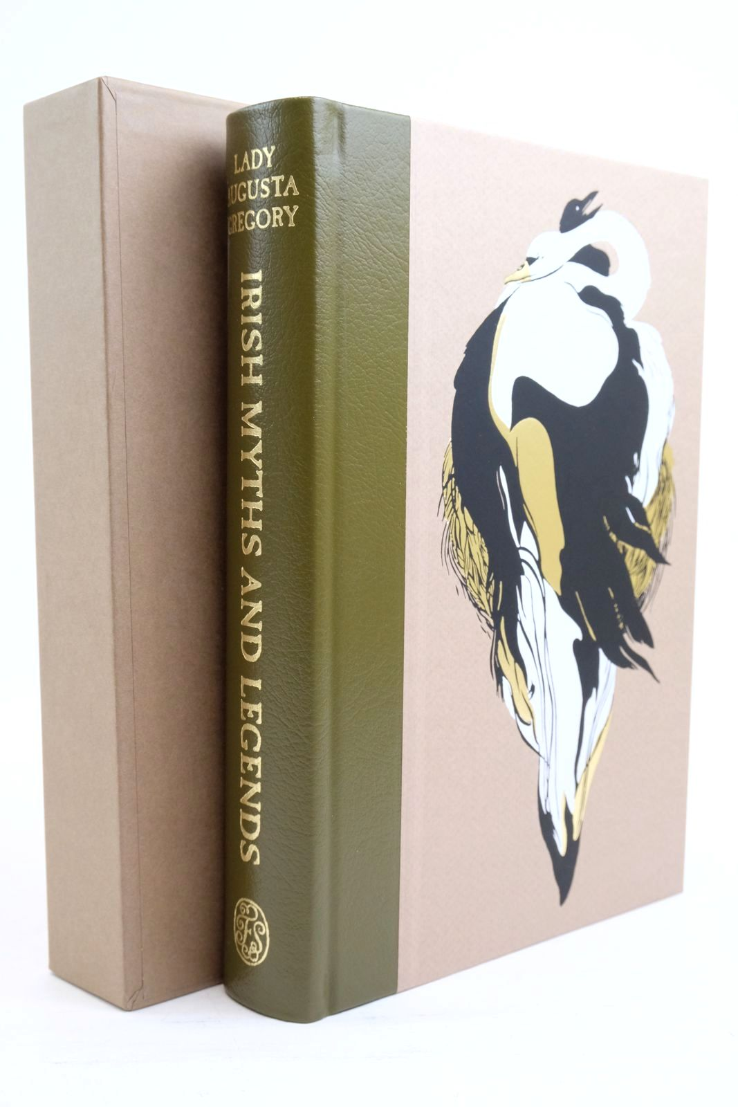 Photo of IRISH MYTHS AND LEGENDS written by Gregory, Augusta Yeats, W.B. Toibin, Colm illustrated by Tamaki, Jillian published by Folio Society (STOCK CODE: 1321067)  for sale by Stella & Rose's Books