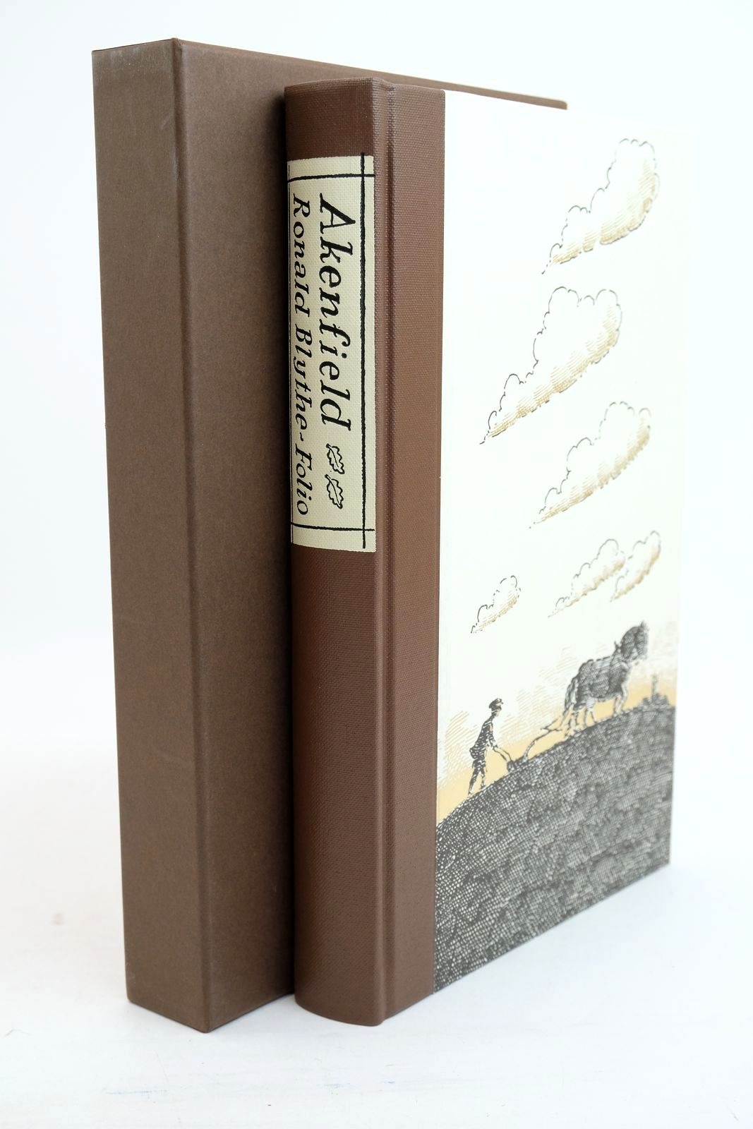 Photo of AKENFIELD: PORTRAIT OF AN ENGLISH VILLAGE written by Blythe, Ronald illustrated by Bailey, Peter published by Folio Society (STOCK CODE: 1321127)  for sale by Stella & Rose's Books