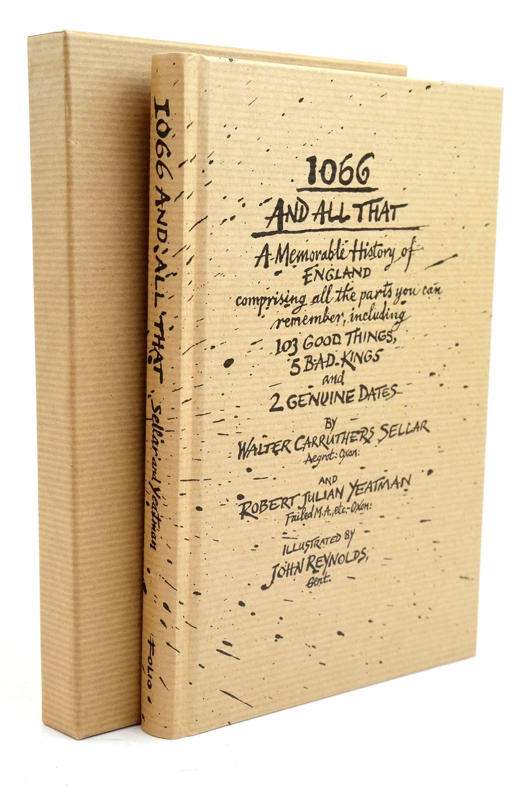 Photo of 1066 AND ALL THAT: A MEMORABLE HISTORY OF ENGLAND- Stock Number: 1321189