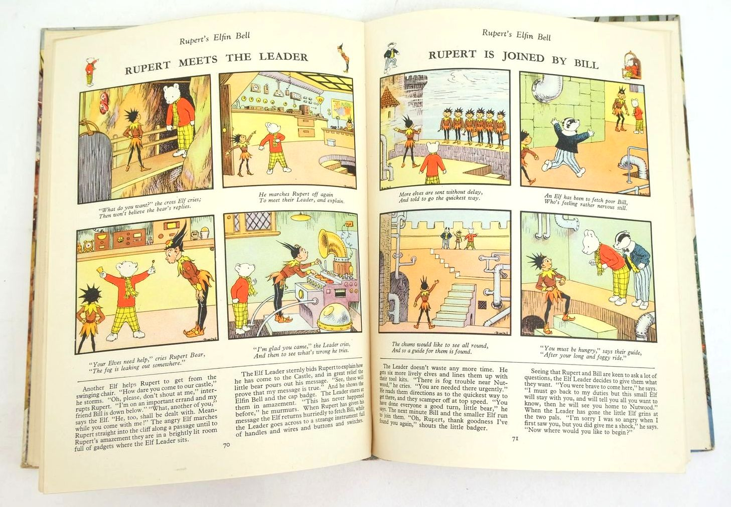 Photo of RUPERT ANNUAL 1951 - THE NEW RUPERT BOOK written by Bestall, Alfred illustrated by Bestall, Alfred published by Daily Express (STOCK CODE: 1321191)  for sale by Stella & Rose's Books