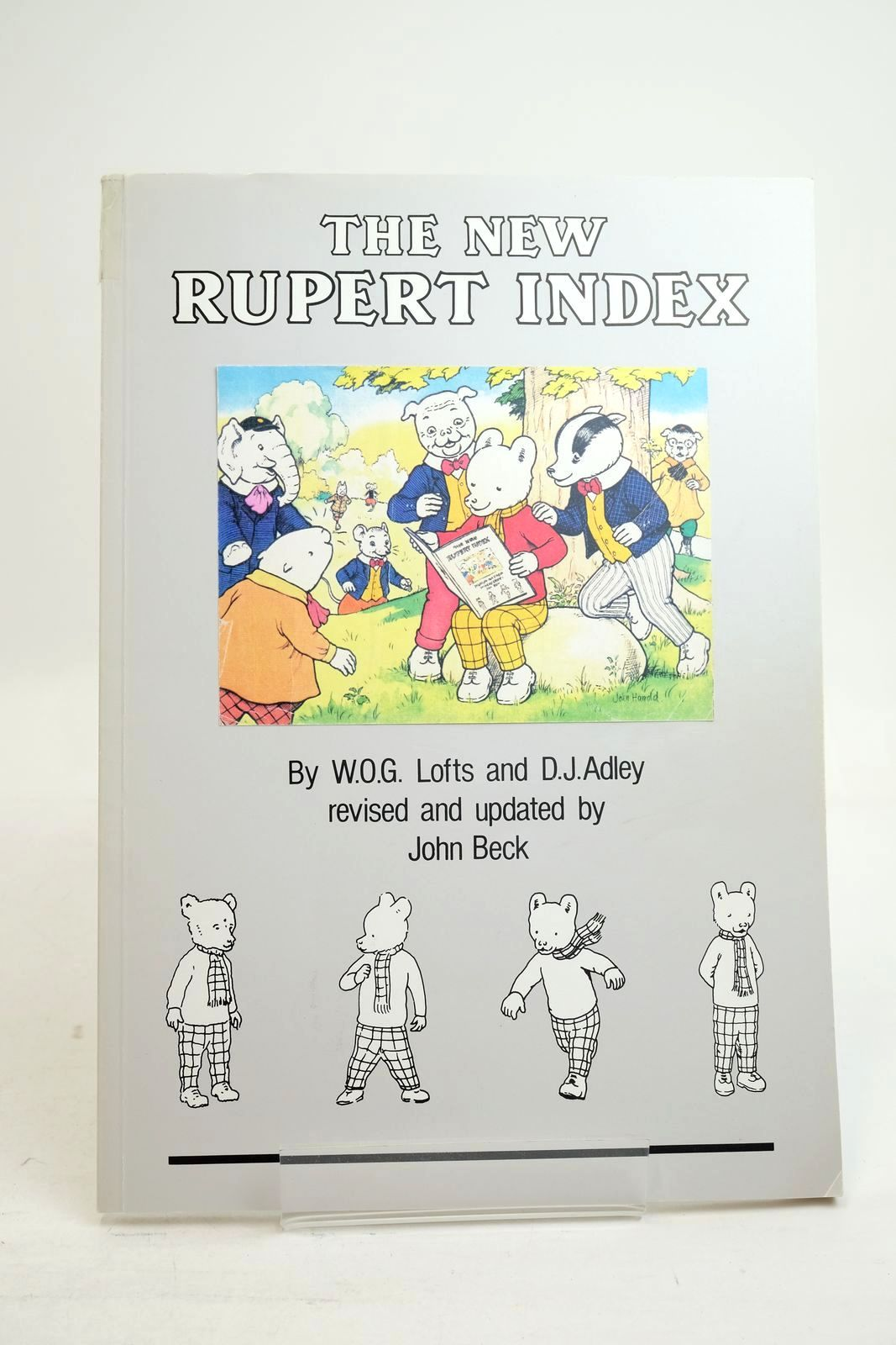 Photo of THE NEW RUPERT INDEX written by Lofts, W.O.G. Adley, D.J. Beck, John published by John Beck (STOCK CODE: 1321200)  for sale by Stella & Rose's Books